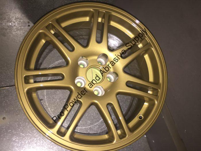 Gold Powder Coated Wheel, Imitation Gold