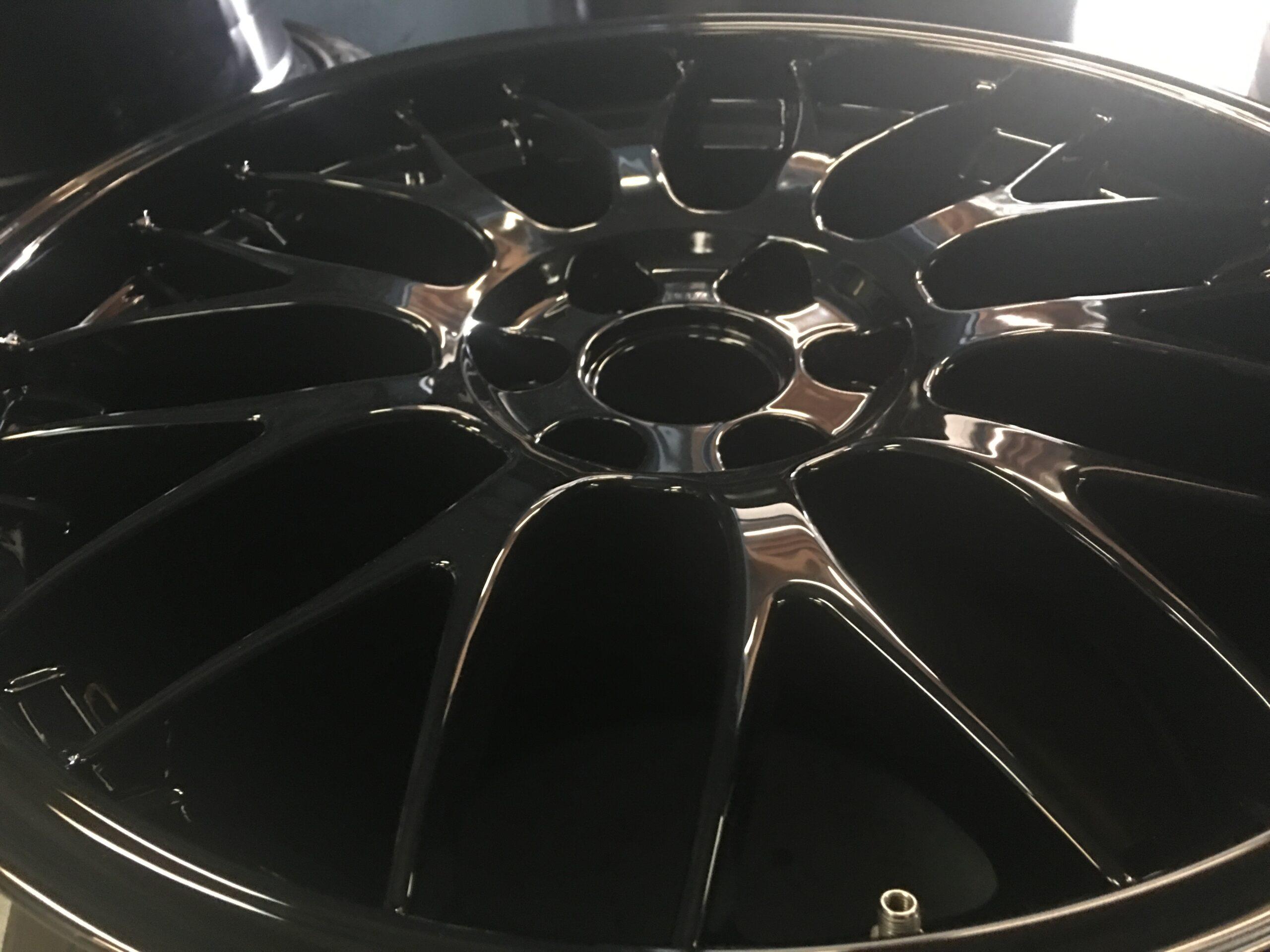 MIRROR BLACK HIGH GLOSS Powder Coating