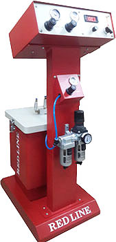 REDLINE POWDER COATING MACHINE
