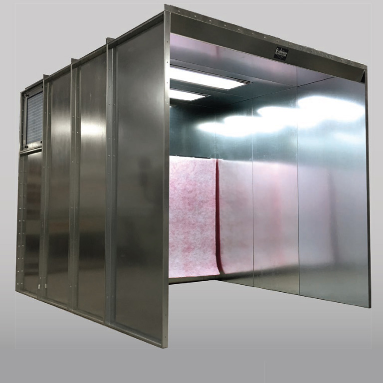 Rohner-spray-to-waste-non-reclaim-booth-1