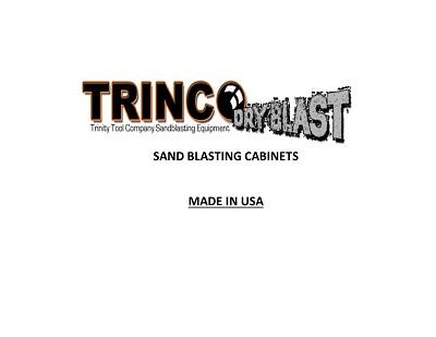 TRINCO Blast Cabinets